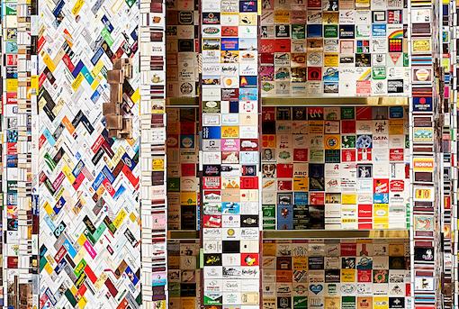 matchbox cupboard interior