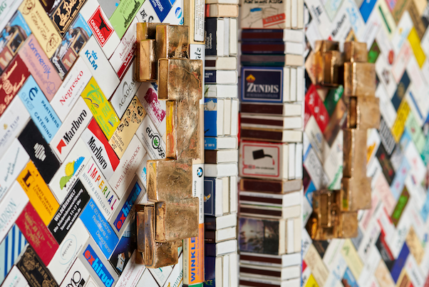 matchbox cupboard handle